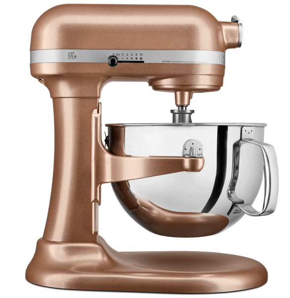 Copper Pearl Stand Mixer.