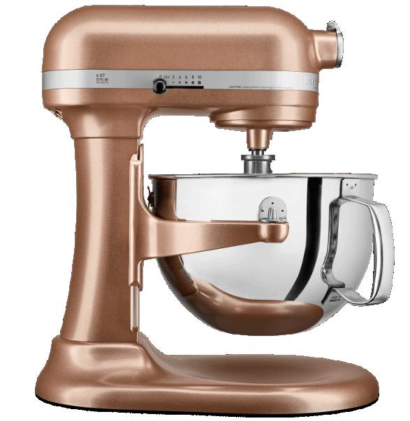 Copper Pearl Stand Mixer.