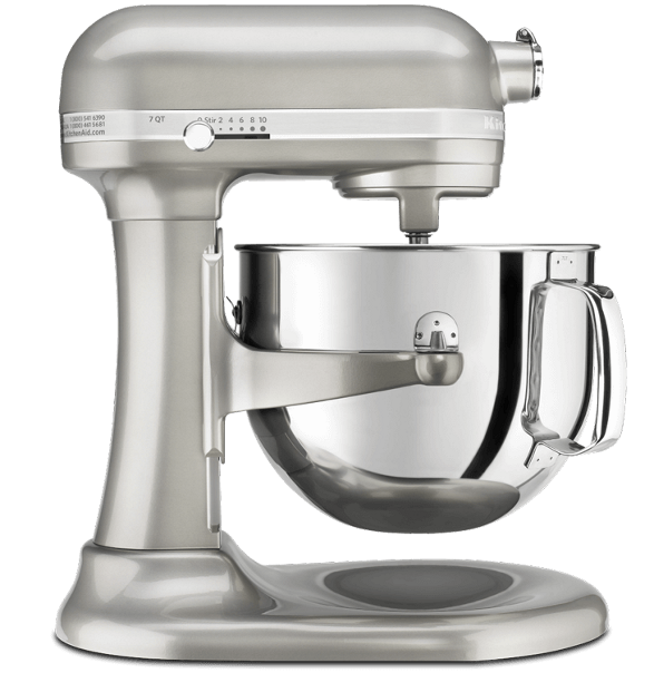 Sugar pearl silver bowl-lift Pro Line® Stand Mixer.