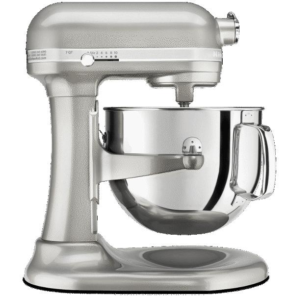 Sugar pearl silver bowl-lift Pro Line® Stand Mixer.