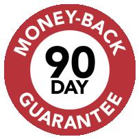 90-Day Money-Back Guarantee