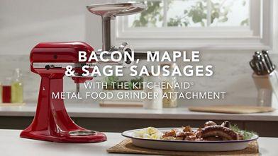 Recipe Video Sausage   KitchenAid on