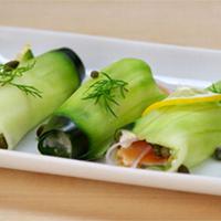 Cucumber Lox Rolls