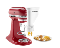 A KitchenAid® Stand Mixer and Attachment.