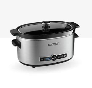 Save 30% On the 6-Quart Slow Cooker with Solid Glass Lid