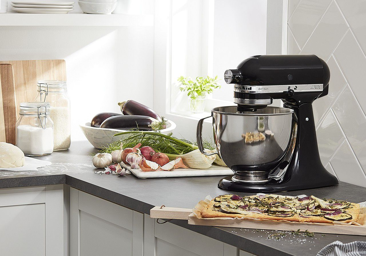 Creating with a KitchenAid® Stand Mixer.