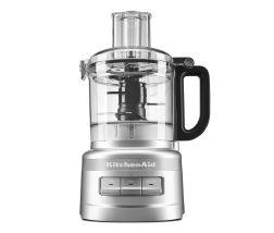 KitchenAid® food processor in silver