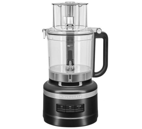 KitchenAid® 13 Cup Food Processor in Black Matte.