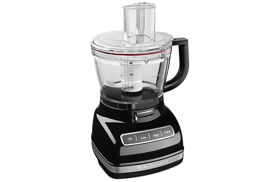 Large-sized black 14-cup food processor
