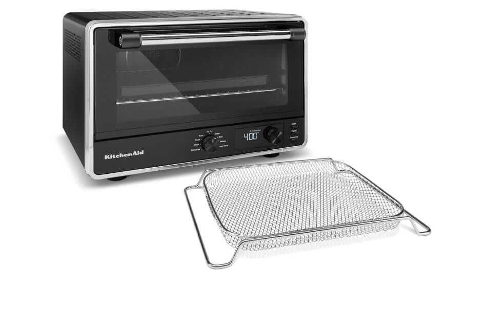 KitchenAid® countertop oven with air fryer basket