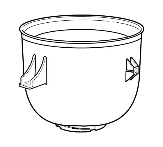 KitchenAid® Ice Cream Maker attachment freeze bowl