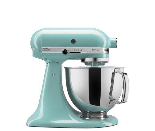 Aqua Sky KitchenAid® tilt-head stand mixer