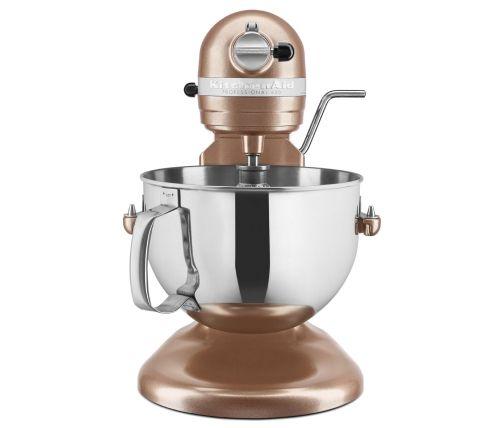 Copper Pearl KitchenAid® bowl-lift stand mixer