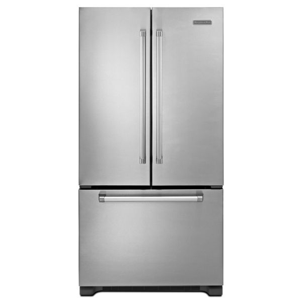 Stainless steel French door refrigerator type