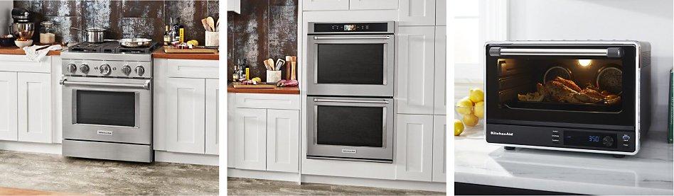 Range oven vs wall oven vs countertop oven