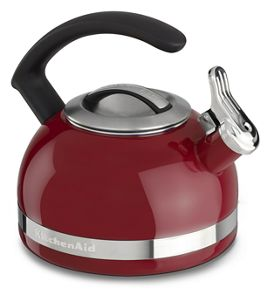 KitchenAid tea kettles combine form and function for the perfect cup