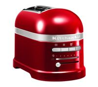 An attractive and functional addition to any countertop, the KitchenAid Toaster offers a variety of functions for everyday use.