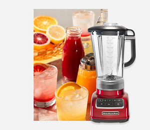 KitchenAid Empire Red Blender