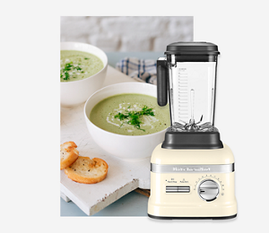 KitchenAid Almond Cream Power Blender
