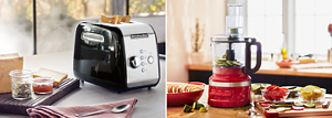 KitchenAid Toaster and Food Processor