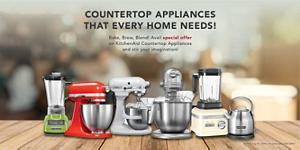 Summer SALE - Get Up To 25% Off on Kitchen Appliances | KitchenAid India