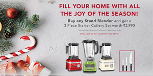 Take advantage of great savings on select KitchenAid® home appliances.