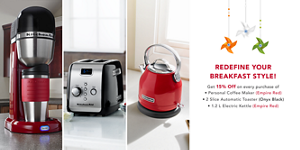 Savour The Savings Event. Save up to 25%* on qualifying models. Click for details.