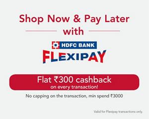 HDFC Flexipay Banner