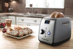 2-Slice Automatic Pop Up Toaster