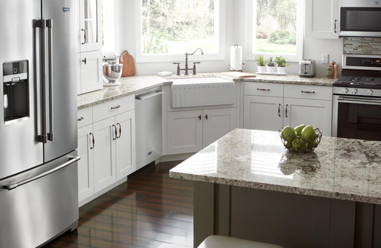 Maytag dishwasher in kitchen suite