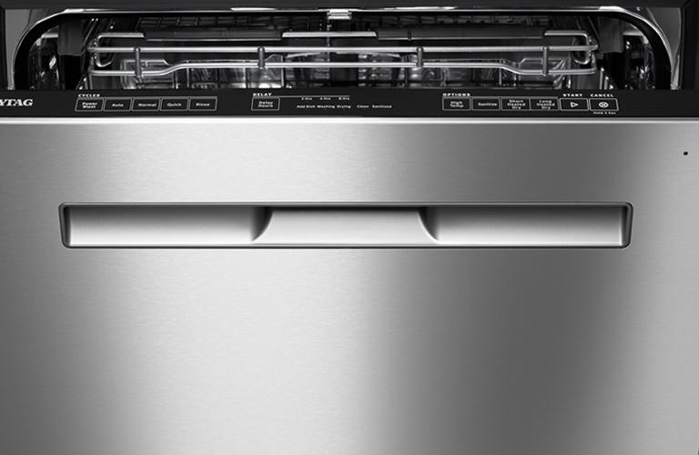 Maytag open dishwasher