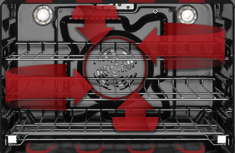 Whirlpool Oven Interior