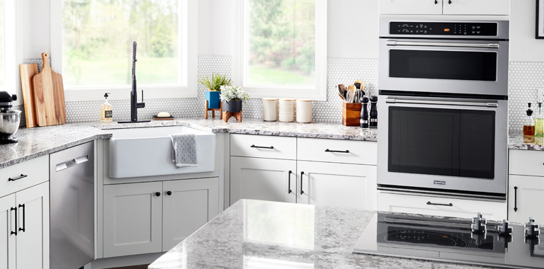 Whirlpool Built-In Combination Wall Oven Stacked Suite
