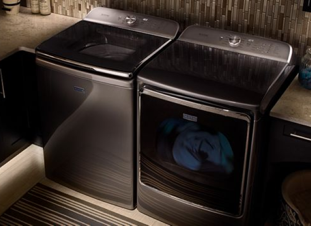 Maytag washer and dryer pair.