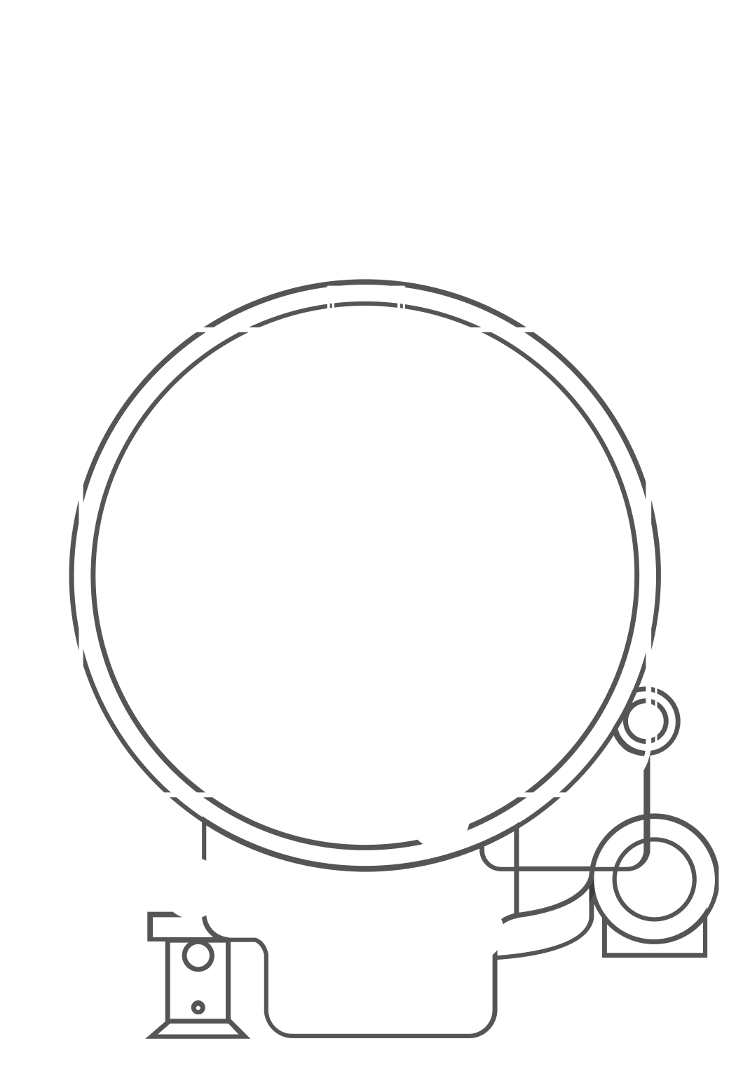 Open oven racks