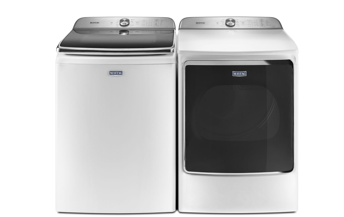 Choose the right replacements for your Maytag Bravos washer and dryer.