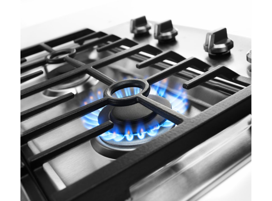 Gas vs electric stove differences.