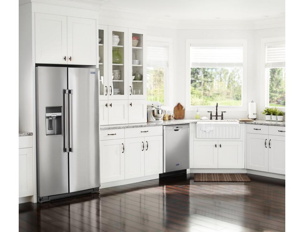 Standard countertop depth refrigerators from Maytag.