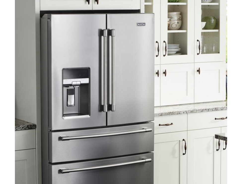 The benefits of a counter depth refrigerator.