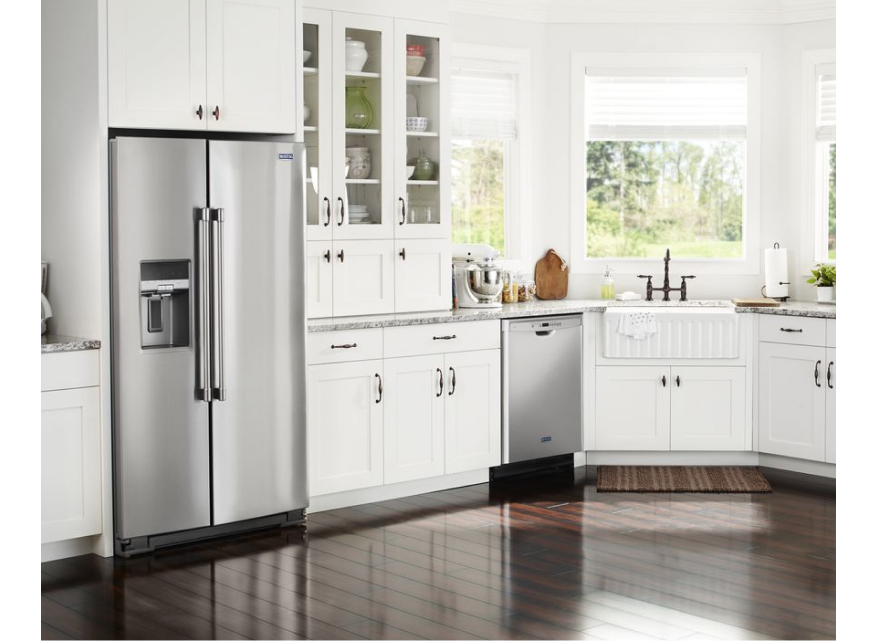 Understand what counter depth means when searching for a new fridge from Maytag.