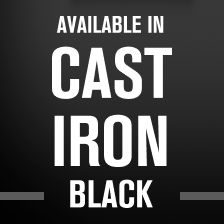 Cast Iron Black 2019 Maytag Badge