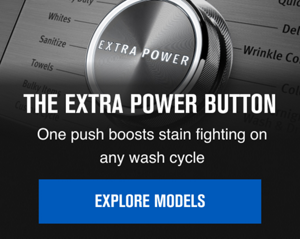Learn about the Extra Power Button on Maytag Front Load Laundry