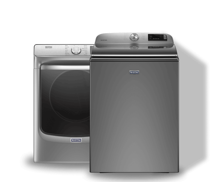 A front load washer and top load washer