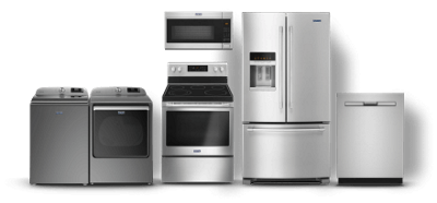 Maytag® laundry and kitchen appliances.