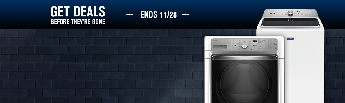 Find the best washing machine for your home from Maytag.