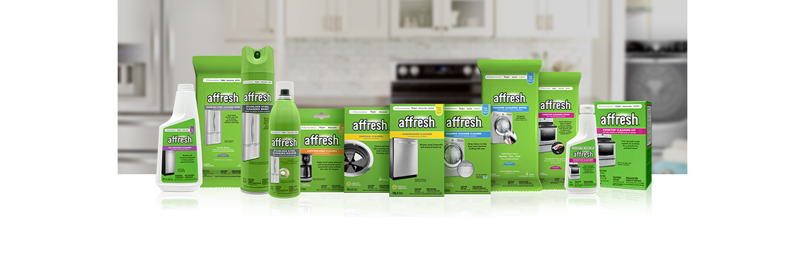 Keep your appliances clean with Affresh® cleaners.