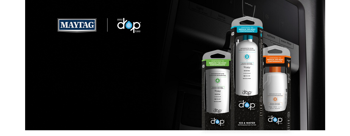 Find your refrigerator replacement filter from EveryDrop water filters.