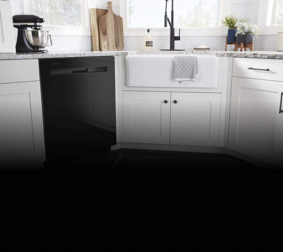 Maytag® dishwasher.