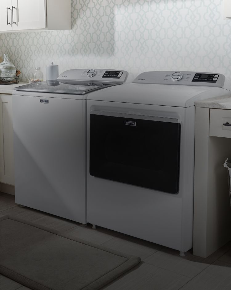 Maytag® Top-Load Laundry Pair.
