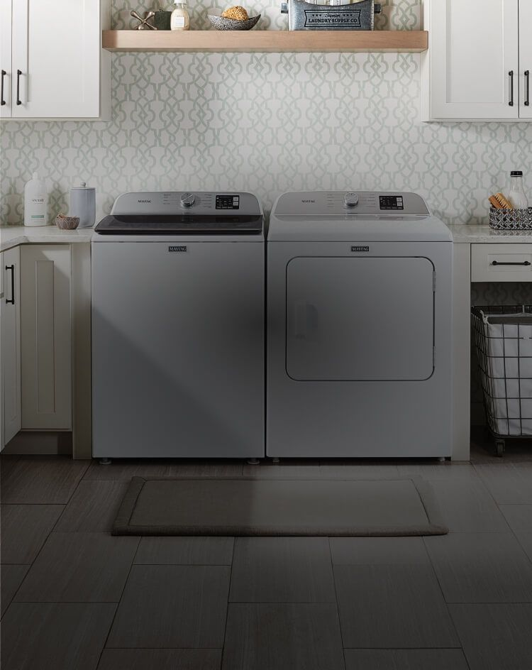 Maytag® washer and dryer.